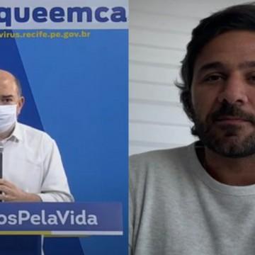 Secretários de Saúde do Recife e de Turismo do Estado de PE testam positivo para a Covid-19