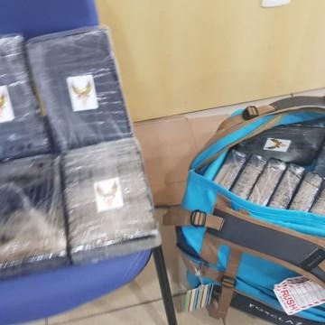 Polícia Federal apreende 35 quilos de cocaína que tinham como destino o Aeoroporto Internacional do Recife