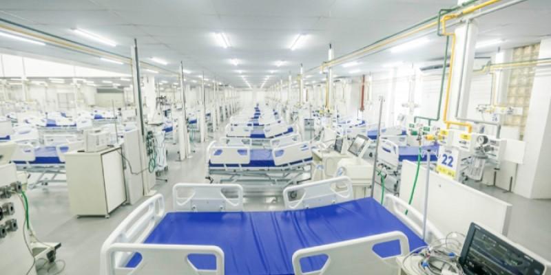 Serão 30 leitos, instalados no pátio do Hospital Mestre Vitalino (HMV)