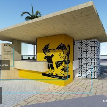 Projeto para requalificação dos quiosques de Boa Viagem é entregue a Prefeitura do Recife