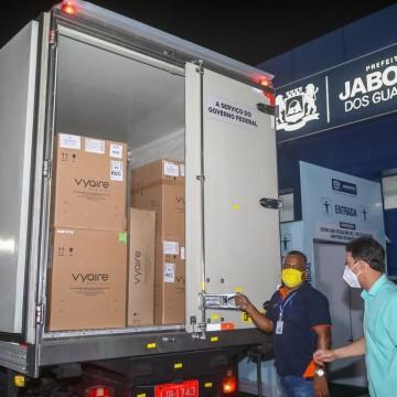 Jaboatão recebe 12 respiradores do Governo Federal e amplia combate à Covid-19