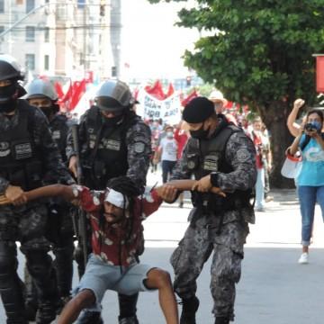 Documento mostra que ordem para repreender ato no Recife foi do comandante-geral da PM