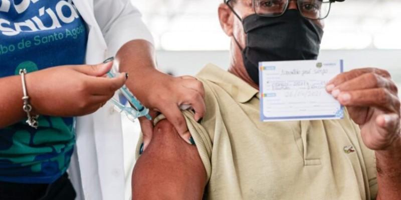 O município continua com 100% de aproveitamento das vacinas recebidas, não tendo perdido nenhuma dose desde o início da vacinação