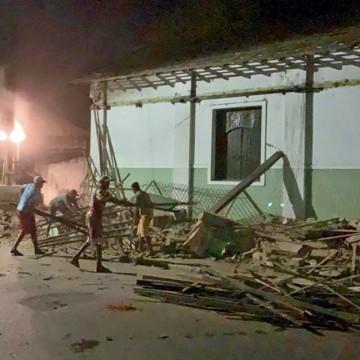 Imóvel protegido pelo patrimônio histórico estadual é demolido no Agreste