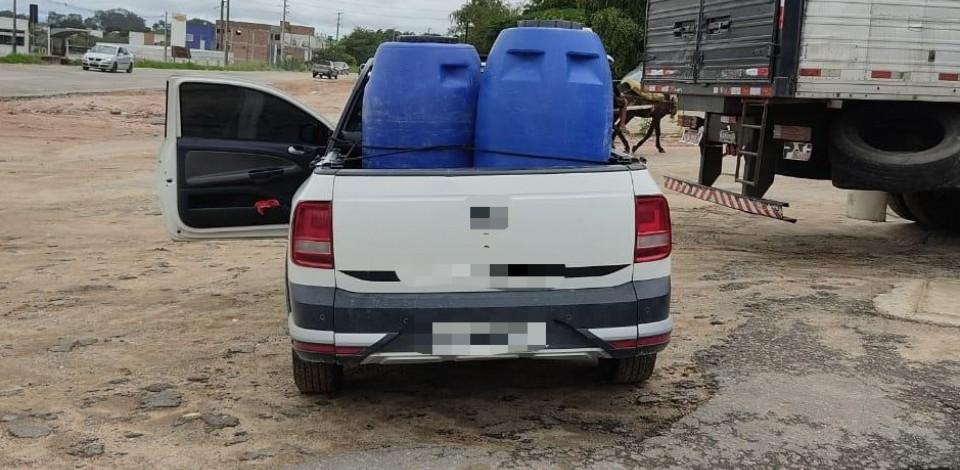 Caminhonete roubada da Arquidiocese de Maceió é recuperada em Garanhuns