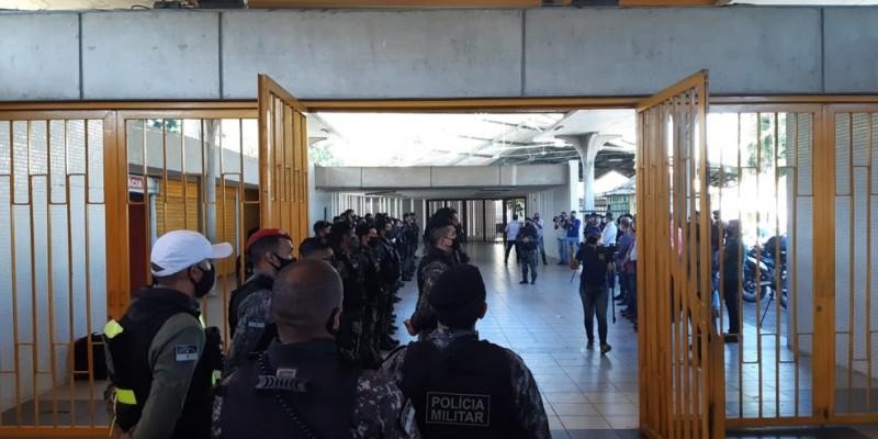 Os policiais vão atuar nas estações e em patrulhas móveis dentro das composições