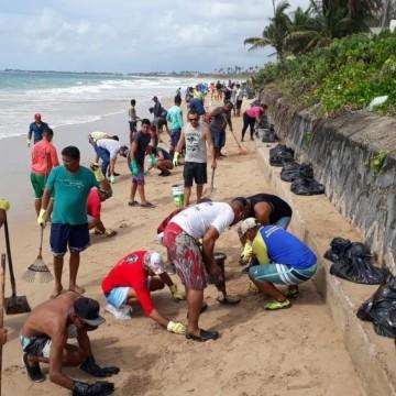 Praias de Ipojuca são afetadas pelas manchas de petróleo