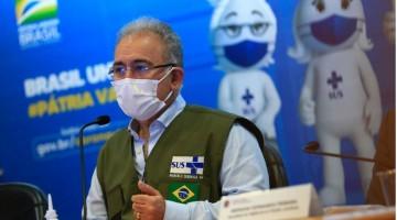 Brasil já aplicou mais de 110 milhões de doses de vacinas contra covid-19