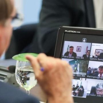 Acompanhe ao vivo a reunião dos Governadores com o presidente Bolsonaro