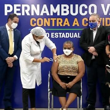 Pernambuco ultrapassa marca de um milhão de pessoas imunizadas contra a covid-19