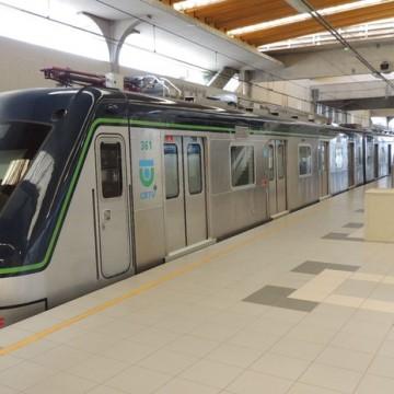 Linha centro do metrô Recife continua sem funcionar