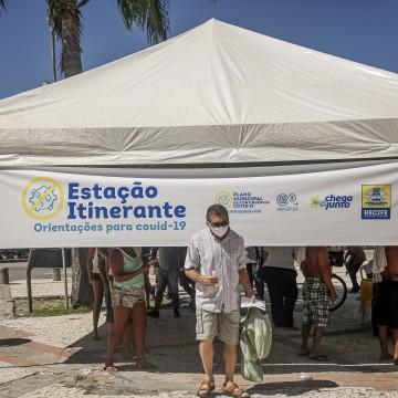 Estações Itinerantes da Covid-19 chegam ao Compaz Ariano Suassuna e mais sete locais nesta semana