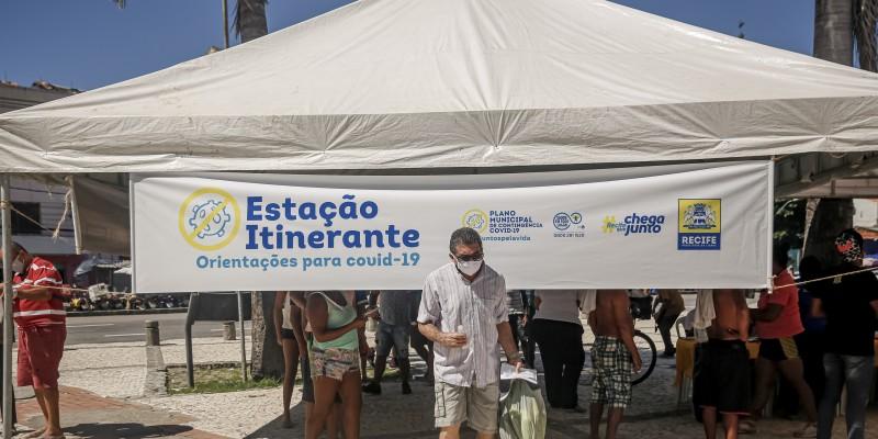 As tendas também vão funcionar nos bairros da Boa Vista, Casa Amarela, Areias, Boa Viagem, Vasco da Gama e Cohab
