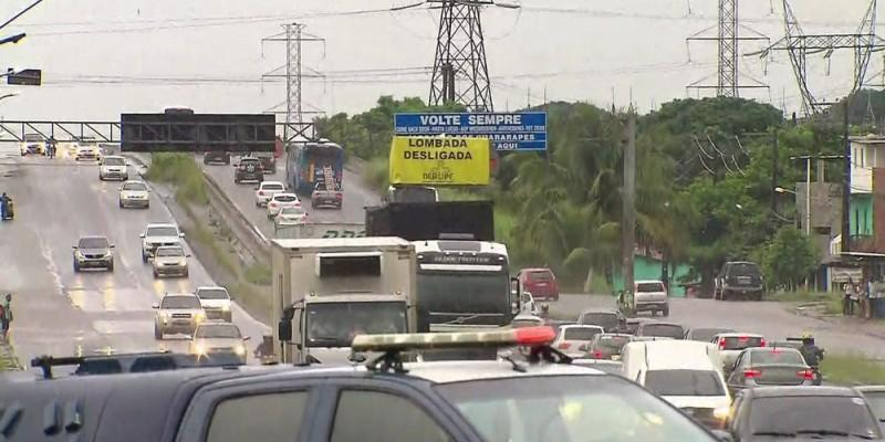 Uma sinalização especial foi implantada para orientar os condutores. Também haverá equipes para ajudar na fluidez do tráfego.