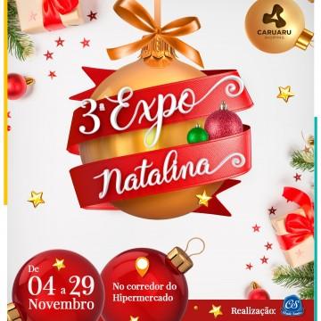 Caruaru sedia a 3ª Expô Natalina