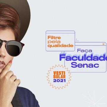 Faculdade Senac abre inscrições para processo seletivo 2021.2