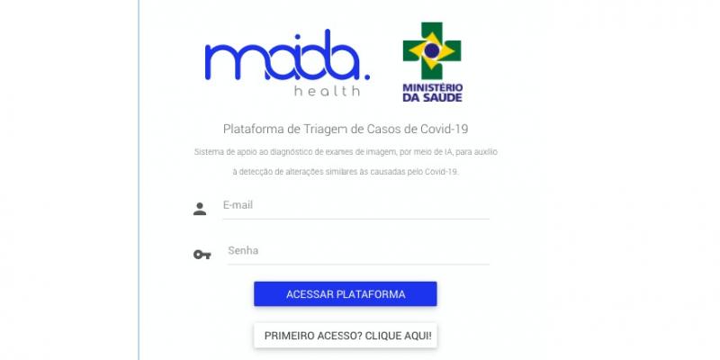 Por meio de parceria com o Ministério da Saúde, a Maida.Health, empresa do Sistema Hapvida, desenvolveu plataforma que vai auxiliar na detecção de alterações causadas por coronavírus.