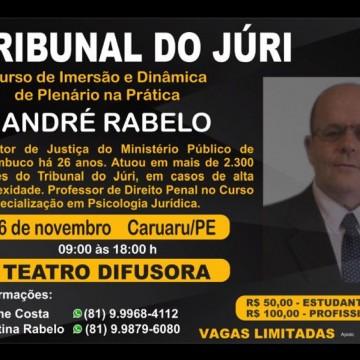 Caruaru recebe curso Tribunal do Juri
