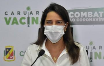 Raquel Lyra solicita ao governador igualdade na vacinação entre os municípios