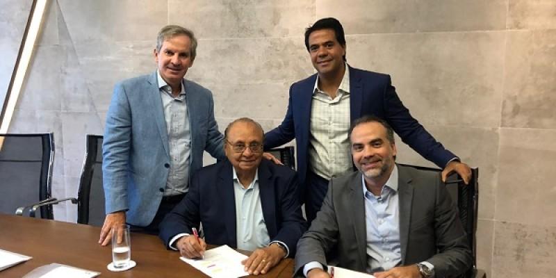 Com a aquisição da Tintas Hidracor, a Iquine hoje se torna a maior empresa de tintas com capital 100% nacional