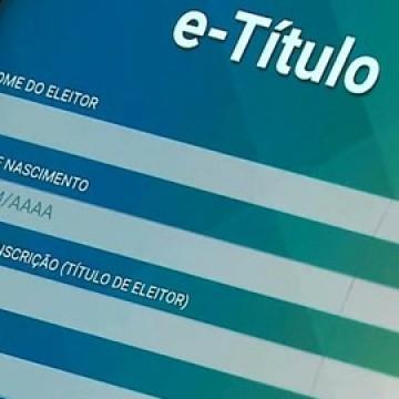 Aplicativo e-Título pode ser usado para justificar voto nas eleições