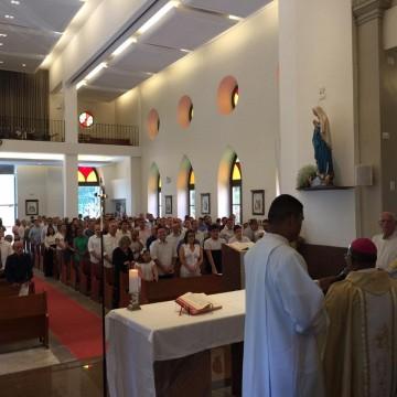 Missa de Ação de Graças reúne políticos na igreja matriz de Casa Forte
