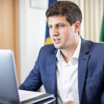 João Campos apresenta ações do Recife em lançamento da campanha Mudar o jogo