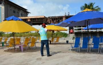 Prefeitura do Ipojuca intensifica cuidados sanitários com a volta do comércio de praia