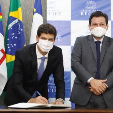 João Campos toma posse como prefeito do Recife