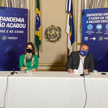 Governo de Pernambuco anuncia novidades no plano de convivência com o novo coronavírus