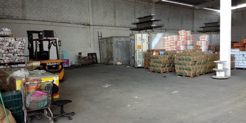 Ogalpão tem uma grande estrutura, contando com três câmaras frias, uma empilhadeira, além de um caminhão usado para realizar as entregas