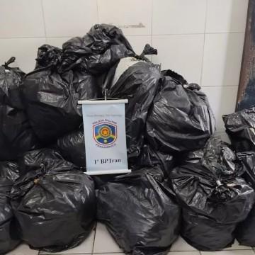 Três pessoas são presas com mais de 200 quilos de maconha no Recife