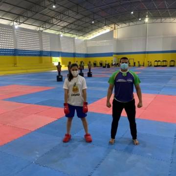 Caruaruense integra equipe de karatê da seleção brasileira e deve participar dos Jogos Pan-Americanos da Juventude, em Cali