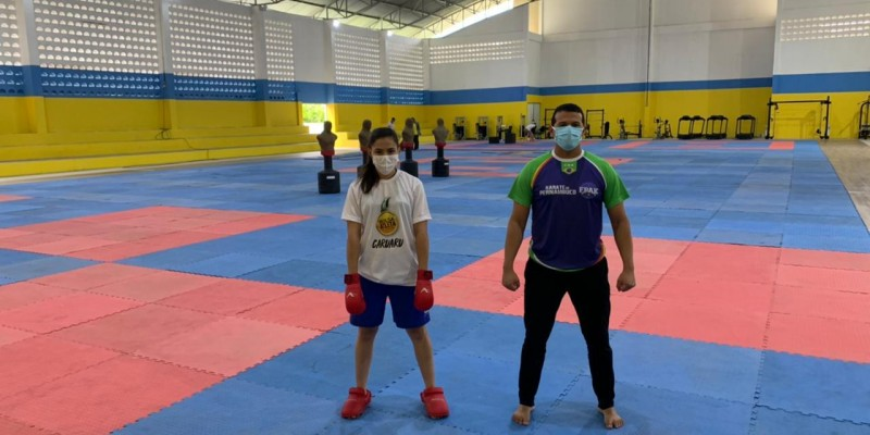 A atleta foi vice-campeã e é a única representante do estado de Pernambuco