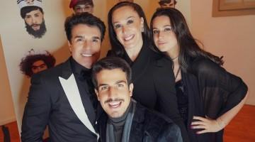 Claudia Raia e família estão com covid