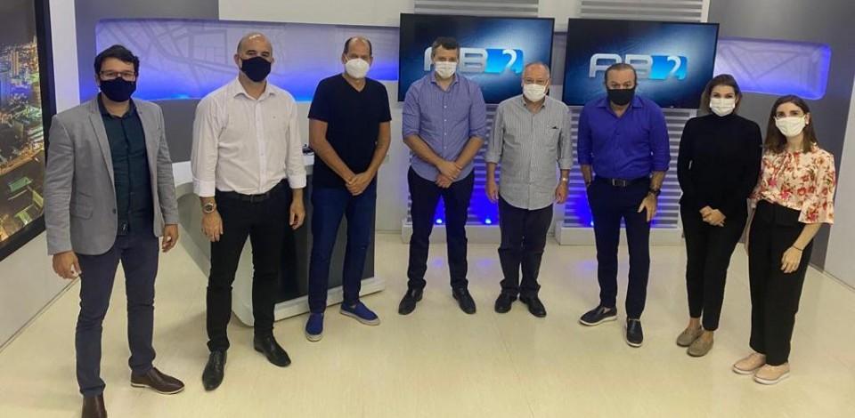 TV Asa Branca e CBN Caruaru recebem Guilherme Ferreira Costa