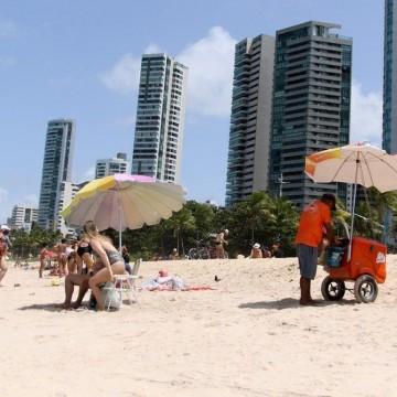 Comércio nas praias de PE estará liberado a partir desta segunda