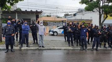 Servidores da Destra realizam mais um protesto