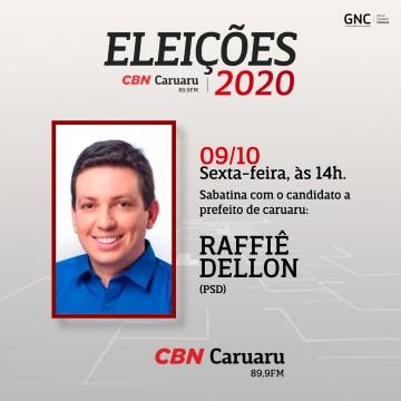 Panorama CBN: Entrevista com o candidato a Prefeito de Caruaru Raffiê Dellon PSD
