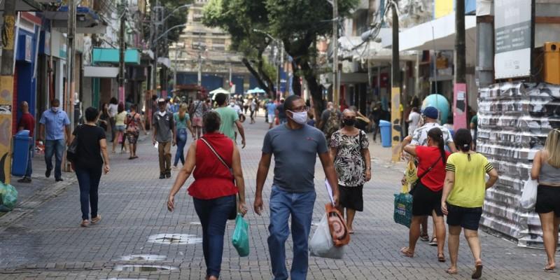 No balanço semestral, a divulgação apontou ainda que o PIB de Pernambuco fechou em 5,8% em relação ao mesmo período do ano anterior