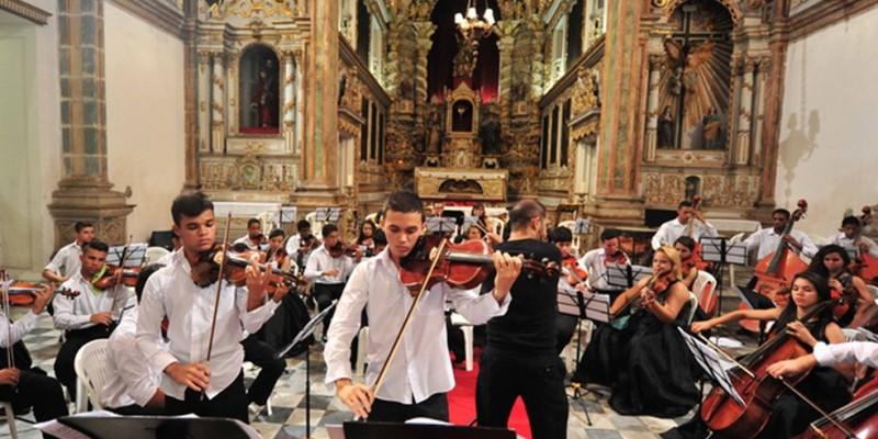 A apresentação foi gravada na Caixa Cultural Recife e vai ao ar às 20h da próxima quarta-feira (26) contando como protagonistas cinco violinistas do Núcleo do Coque
