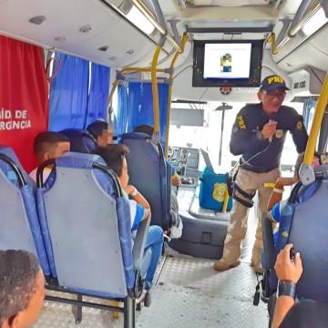 PRF participa da Semana Nacional do Trânsito em Caruaru