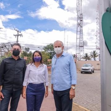 Prefeita Raquel Lyra recebe Deputados em visita ao Monte Bom Jesus nesta terça-feira (26)