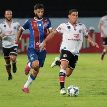 Santa Cruz e Bahia estreiam Nordestão com empate