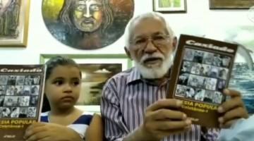 Caxiado lança livro de poesia popular