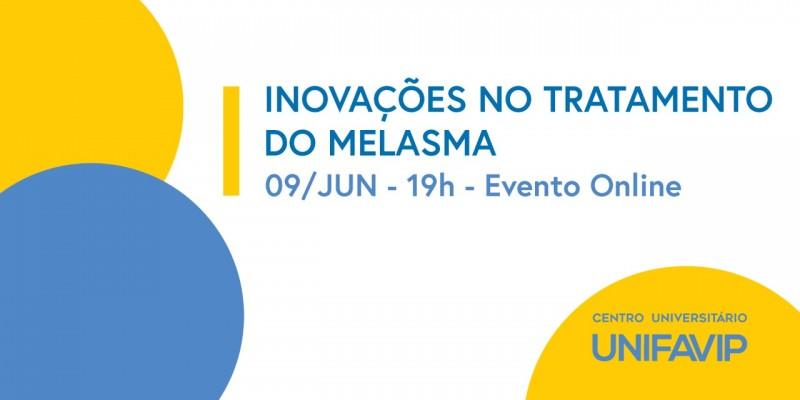 """Criador de métodos importantes, oCarlos Varela vai falar sobre """"Inovações no Tratamento do Melasma""""; evento será on-line e com certificado"""