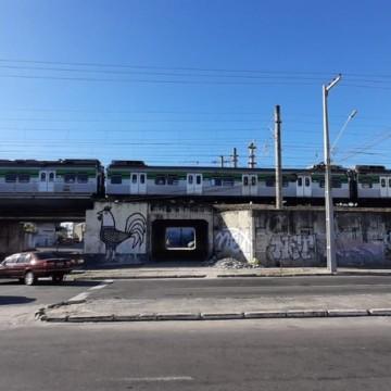 Metrô do Recife apresenta problema na fiação elétrica