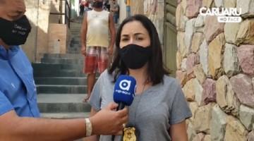 DELEGADA ESTEFÂNIA AZEVEDO FALA SOBRE HOMICÍDIO, DESTA MANHÃ, NO BAIRRO CENTENÁRIO, EM CARUARU