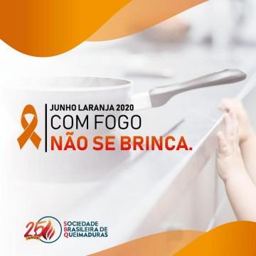 Campanha Junho Laranja chama atenção para os acidentes domésticos com crianças
