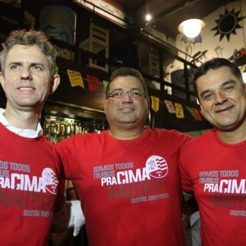 Edno Melo e Diógenes Braga não devem ter concorrência na presidência do Náutico